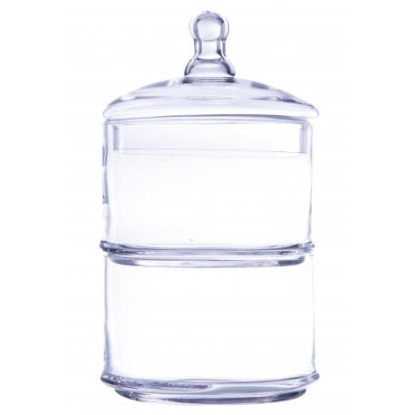La bonbonnière 2 bocaux empilés