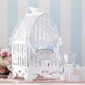 L'urne cage oiseaux cartonné