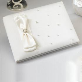 Le livre d'or perle ivoire