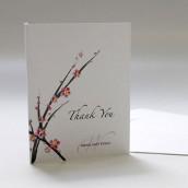 La carte fleur de cerisier pliable en 2