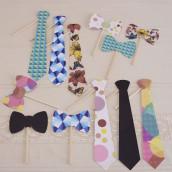 Le kit cravate pour photobooth