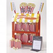 Le stand à pop corn ou hot dog