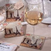 Les 2 dessous de verre Paris
