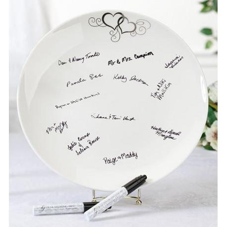 Livre d 39 or assiette messages for Decoration a l assiette