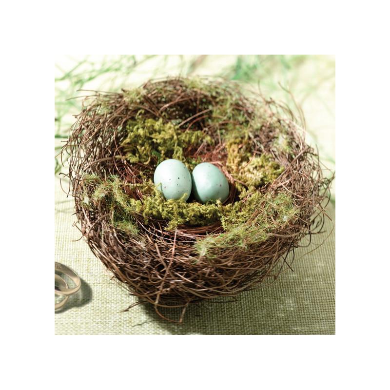 Porte alliances nid naturel deco champetre - Porte alliance champetre ...