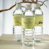 Les 12 étiquettes à bouteille personnalisées oiseaux