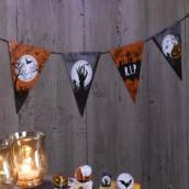 La guirlande de fanions halloween