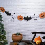 La guirlande d'halloween