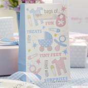 Les sacs en papier baby shower