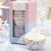 Les caissettes cupcake baby shower