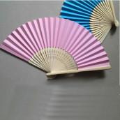 L'éventail en papier (12 coloris)