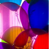 le ballon cristal transparent (10 coloris)