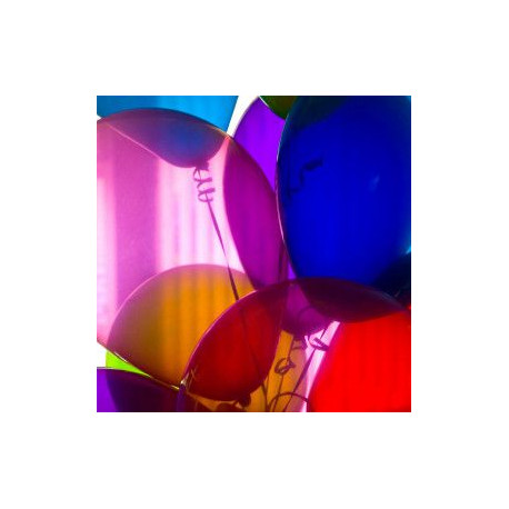 le ballon cristal transparent (10 coloris)