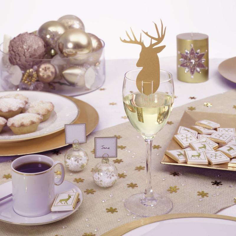 Marque place noel renne - Marque de decoration ...
