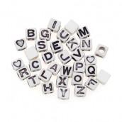 Les perles cube alphabet