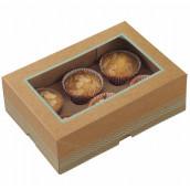 La boite kraft pour gâteau (par 2)