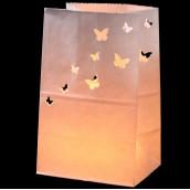 Les 5 sacs lanternes aux papillons