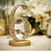 Mariage tendance pailleté glitter