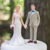 La figurine mariage main dans la main