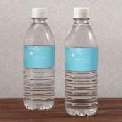 Les 10 étiquettes à bouteille flocon -9 coloris