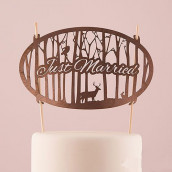 La figurine Just married forêt