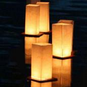 Les 2 lanternes flottantes