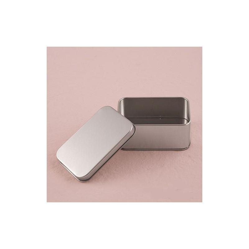 Boite dragee rectangulaire metal - Boite a gateau metal ...