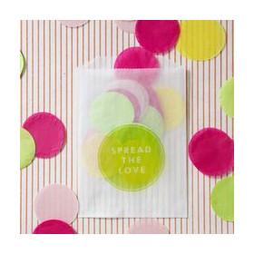 Les confettis ronds géants biodégradables