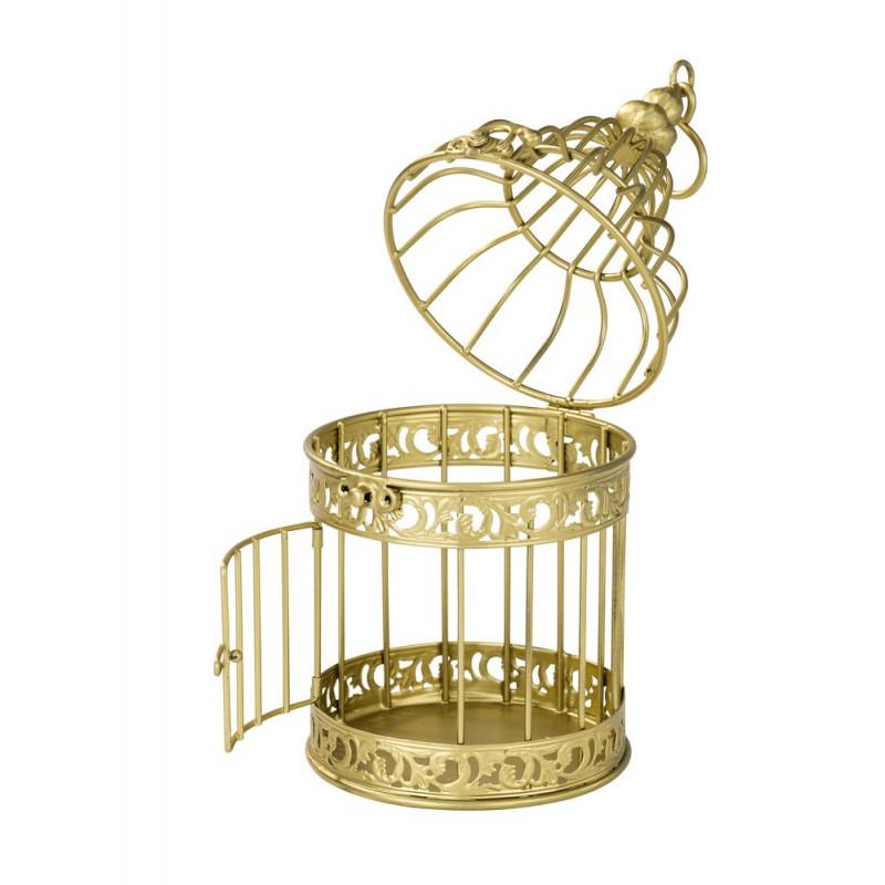 cage miniature or. Black Bedroom Furniture Sets. Home Design Ideas