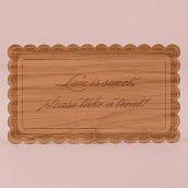 La mini pancarte personnalisée bois