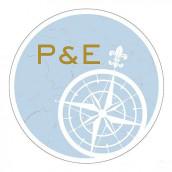 Les 2 stickers personnalisés boussole