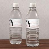 Les 10 étiquettes à bouteille mariés -5 coloris