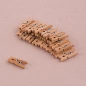 Les mini pinces à linge (par 24)