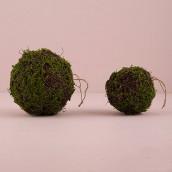 La boule de mousse végétale