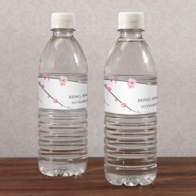 Les 10 étiquettes à bouteille fleur de cerisier