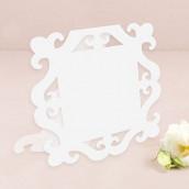 Les cartons de table cadre baroque