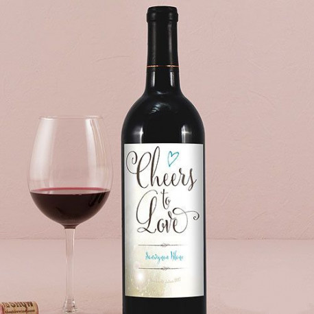 etiquette personnalise bouteille vin plume. Black Bedroom Furniture Sets. Home Design Ideas