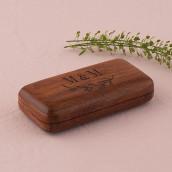 Le porte alliances bois personnalisé branche