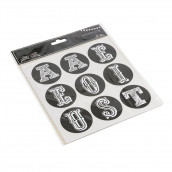 Les stickers alphabet 5cm