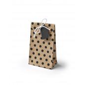Les 6 sacs en papier kraft chevron
