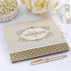 Le livre d'or just married or