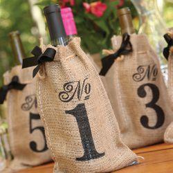 Les 10 sacs à bouteilles numéros de table