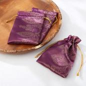 Le pochon à dragées oriental violet