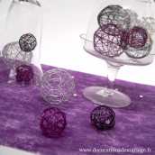 Le set de boule en métal (10 coloris)