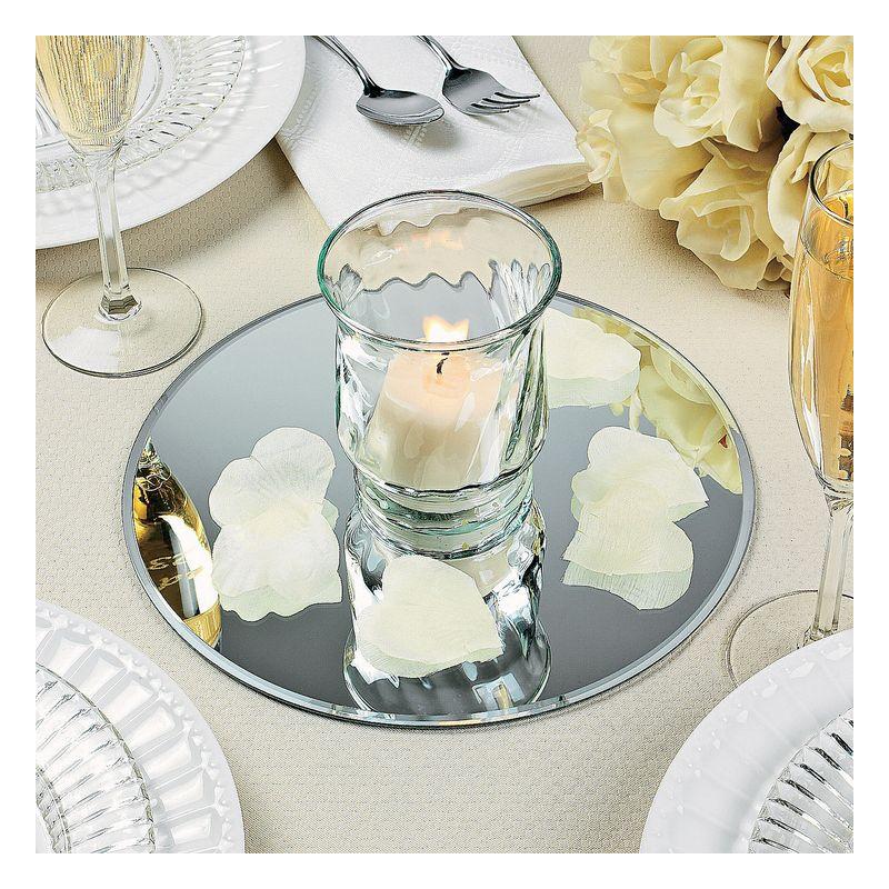 Miroir de table rond pour centre de table - Miroir a poser sur table ...