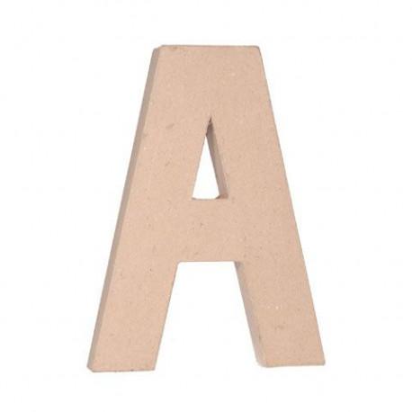 La lettre en papier 30,5cm sur 3,80cm