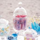 La bonbonnière d'apothicaire en verre