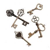 Les 24 clés anciennes bronze