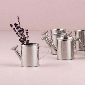 Les 12 mini arrosoirs contenants à dragées