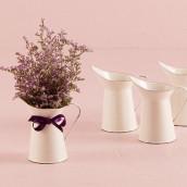 Le pichet miniature décoratif blanc